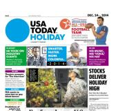 12/24/2014 Issue of USA TODAY