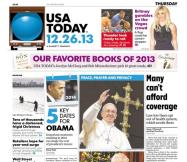 12/26/2013 Issue of USA TODAY