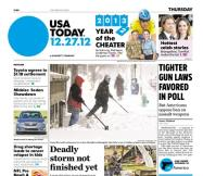 12/27/2012 Issue of USA TODAY