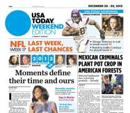 12/28/2012 Issue of USA TODAY