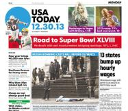 12/30/2013 Issue of USA TODAY