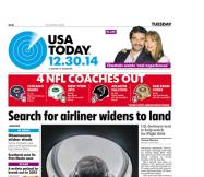 12/30/2014 Issue of USA TODAY
