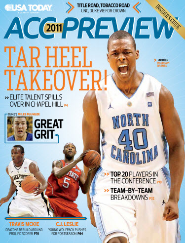 ACC Basketball Preview - Tarheel Cover