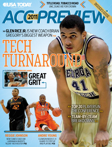 ACC Basketball Preview - Georgia Tech Cover
