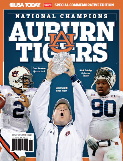 BCS Commemorative - Auburn Tigers
