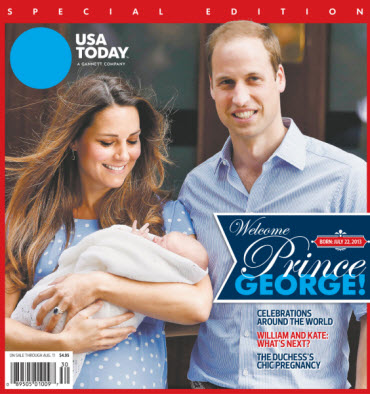 Welcome Prince George! USA TODAY Special Edition