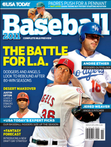 Baseball 2011  - Dodgers Cover