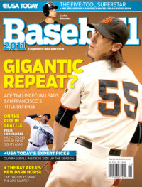 Baseball 2011  - Giants Cover