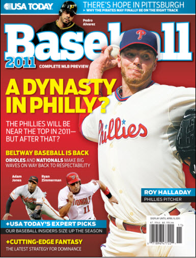 Baseball 2011  - Phillies Cover