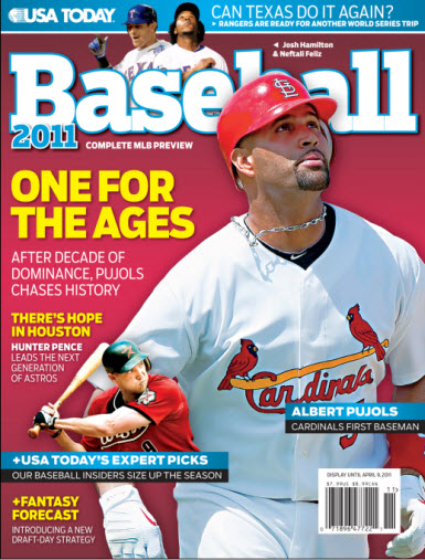 Baseball 2011  - St. Louis Cover