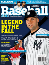 Baseball 2011  - NY Yankees Jeter Cover