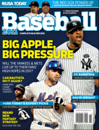 Baseball 2011  - NY Yankees Cover