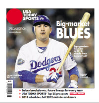 Baseball Insider 2012 Special Edition - LA Dodgers Cover