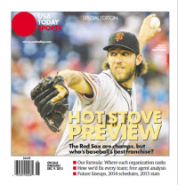 Baseball Insider 2013 Special Edition - Giants Cover