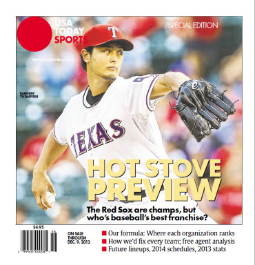 Baseball Insider 2013 Special Edition - Rangers Cover