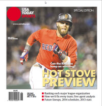 Baseball Insider 2013 Special Edition - Red Sox Cover