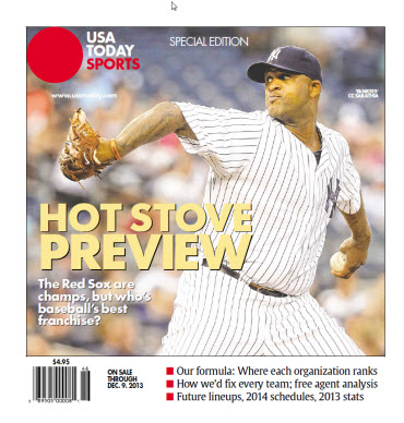 Baseball Insider 2013 Special Edition - Yankees Cover