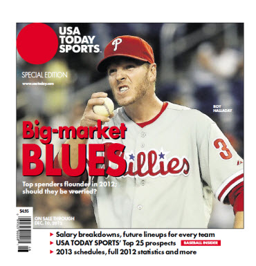 Baseball Insider 2012 Special Edition - Phillies Cover