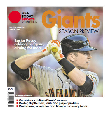 MLB Preview 2013 Special Edition - Giants Cover