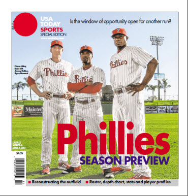 MLB Preview 2013 Special Edition -  Phillies Cover