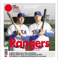 MLB Preview 2013 Special Edition -  Rangers Cover