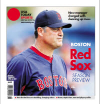 MLB Preview 2013 Special Edition - Red Sox Cover