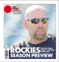 MLB Preview 2013 Special Edition -  Rockies Cover