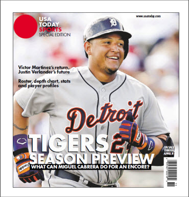 MLB Preview 2013 Special Edition - Tigers Cover