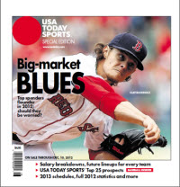 Baseball Insider 2012 Special Edition - Red Sox Cover