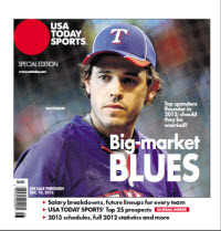 Baseball Insider 2012 Special Edition - Texas Rangers Cover