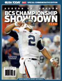 BCS Championship Showdown - Auburn Cover