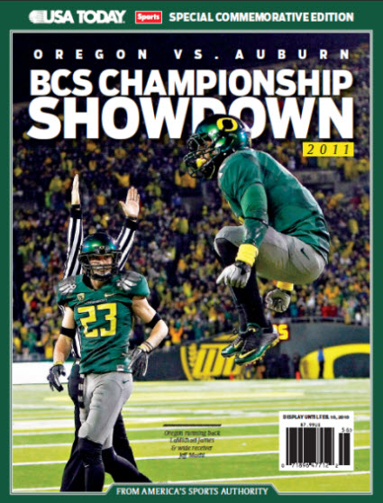 BCS Championship Showdown - Oregon Cover