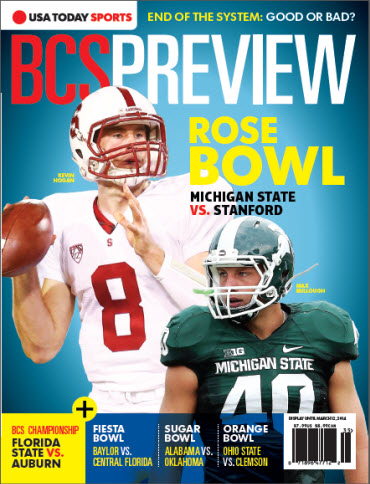 BCS Preview - Rose Bowl Cover