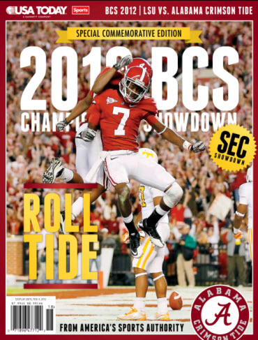BCS Preview - Alabama Cover