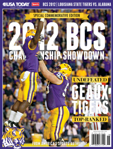 BCS Preview - LSU Cover