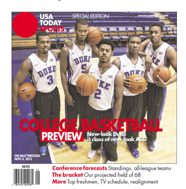 College Basketball - 2013 Special Edition - Duke Cover