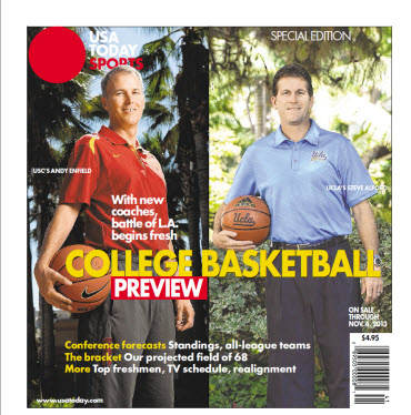 College Basketball - 2013 Special Edition - USC-UCLA Cover