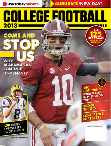 College Football Preview 2013 - Alabama
