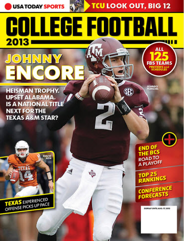 College Football Preview 2013 - Johnny Manziel
