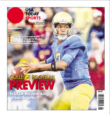 College Football Preview Special Edition - UCLA - Oregon - PAC 12 cover