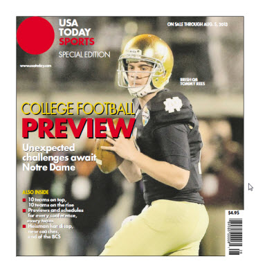 College Football Preview Special Edition - Notre Dame Cover