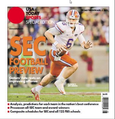 College Football Preview Special Edition - SEC - Florida Cover