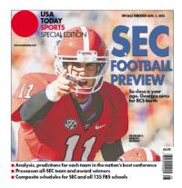 College Football Preview Special Edition - SEC - Georgia Cover
