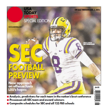 College Football Preview Special Edition - SEC - LSU Cover