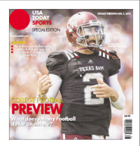 College Football Preview Special Edition - Texas A&M - SEC Cover