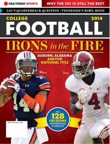 College Football Preview 2014 -Auburn and Alabama