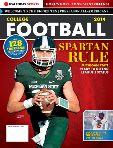 College Football Preview 2014 - Michigan State