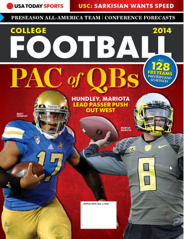College Football Preview 2014 - UCLA and Oregon