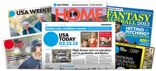 USA Today Past Issues