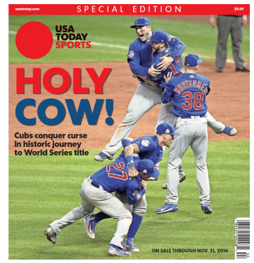 Chicago Cubs Win World Series - Special Edition
